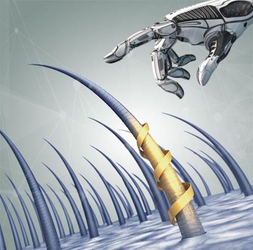 SAÇ EKİM ROBOTU NASIL EKİM YAPAR?